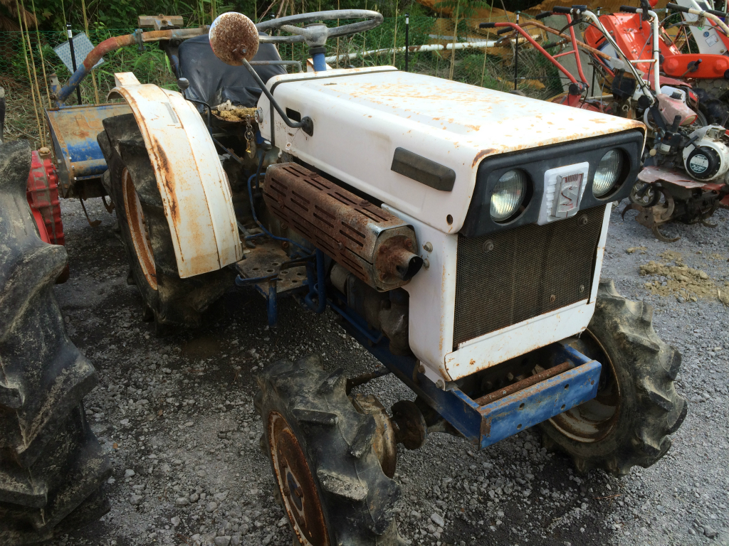 Satoh Steering Parts : Satoh st d used compact tractor khs japan
