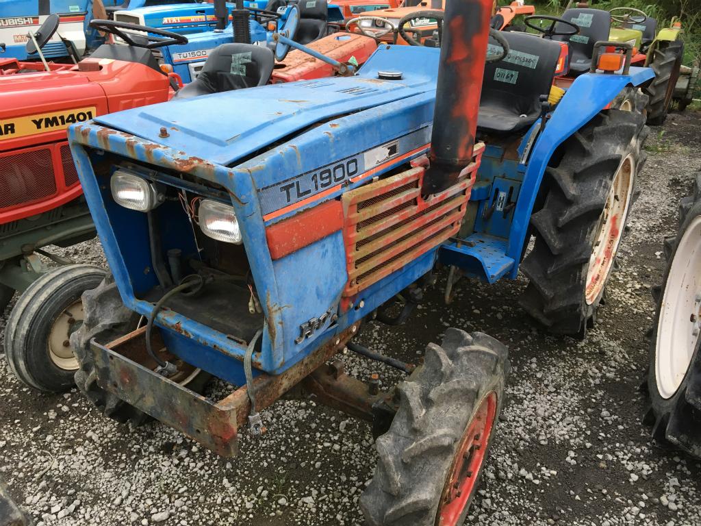 Iseki Tractor Salvage : Iseki tl f used compact tractor khs japan
