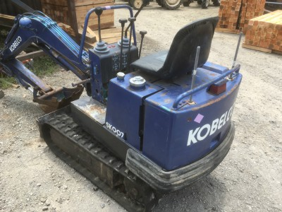 KOBELCO SK007 PT00024 used MINI EXCAVATOR |KHS japan