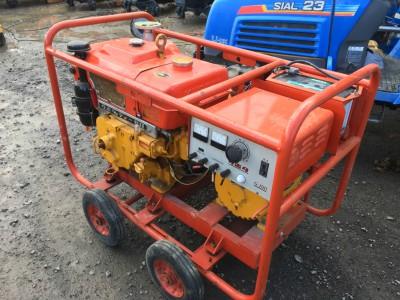 KUBOTA G100 ER150 used diesel generator  KHS japan.