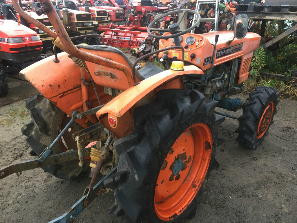 Kubota L1500d 17194 Used Compact Tractor