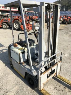 TOYOTA FG-5 11512 used fork lift |KHS japan
