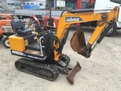 HANIX N080-2 811252 used BACKHOE |KHS japan