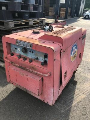 DENYO DCD230SS 10149 used welding generator  KHS japan.