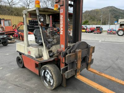 NISSAN RGH02 001050 used SIDE LOADER fork lift |KHS japan