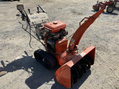 KUBOTA KSR8F 849725 SNOWBLOWER used compact tractor |KHS japan
