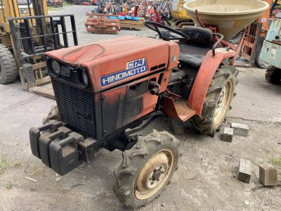 C174D 01352 japanese used compact tractor |KHS japan
