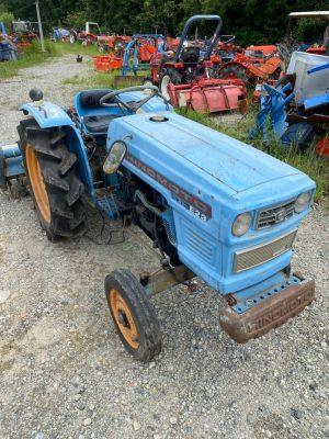 E23S 10086 japanese used compact tractor |KHS japan
