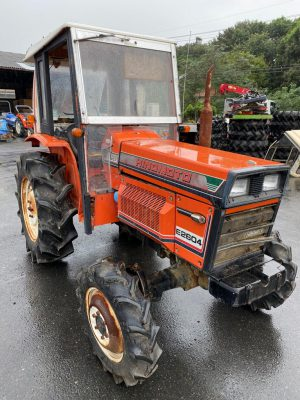 E2604D 60317 japanese used compact tractor |KHS japan