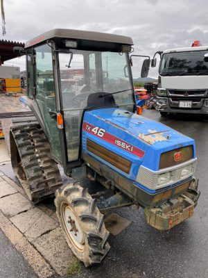 TK46F 000207 japanese used compact tractor |KHS japan