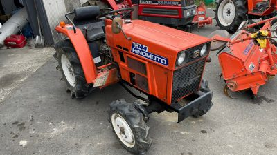 C144D 00851 japanese used compact tractor |KHS japan