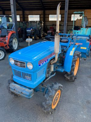 E14D 00851 japanese used compact tractor |KHS japan