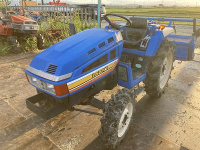 TU185F 02406 japanese used compact tractor |KHS japan